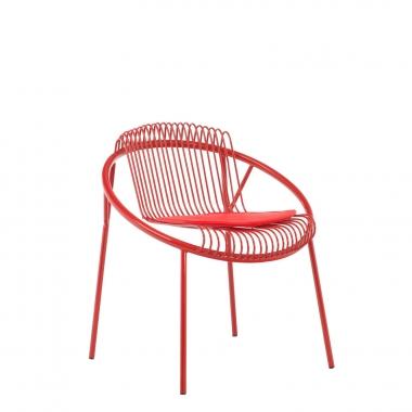 Silla Hoop - Rojo