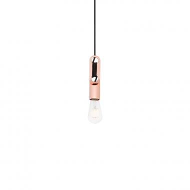 Lámpara Clip Metalizada
