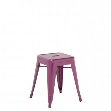Taburete LIX - Violeta Púrpura