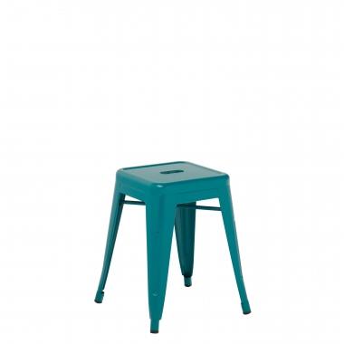 Taburete LIX - Azul Turquesa