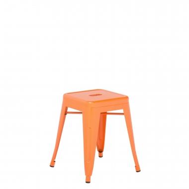 Taburete LIX - Naranja Azafrán