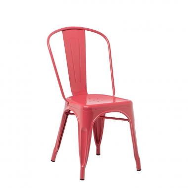 Silla LIX - Rojo Frambuesa
