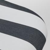 Silla Scand Nordic Tapizada Rayas, imagen miniatura 4