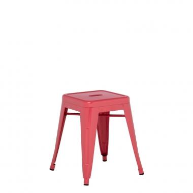 Taburete LIX - Rojo Frambuesa