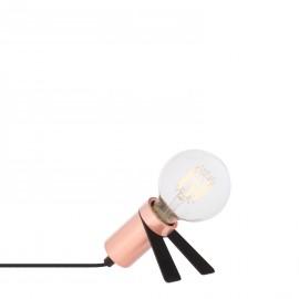 Lámpara Crawl Metalizada - Oro Rosa