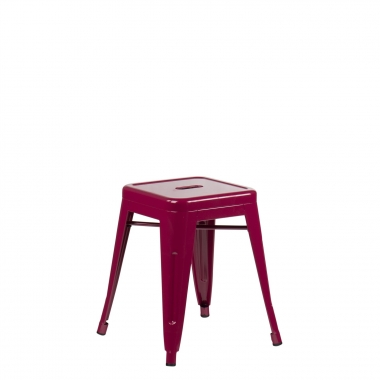 Taburete LIX - Rojo Sangría