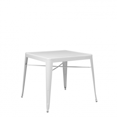 Mesa LIX X (80x80) - Blanco