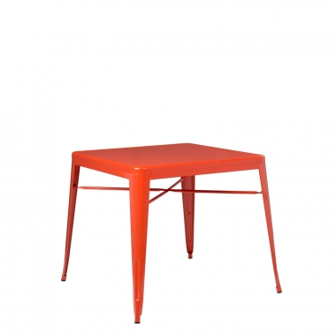 Mesa LIX X (80x80) - Naranja