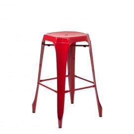 Taburete Alto Ziu - Rojo