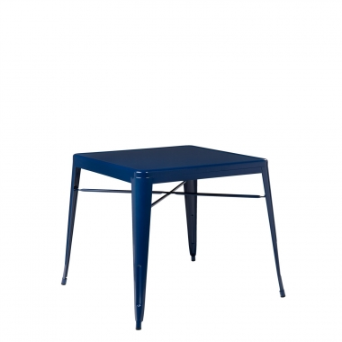 Mesa LIX X (80x80) - Azul Marino