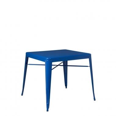 Mesa LIX X (80x80) - Azul Lapislázuli