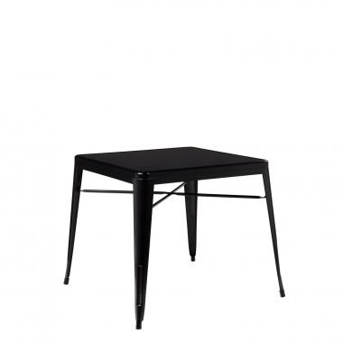 Mesa LIX X (80x80) - Negro