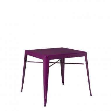 Mesa LIX X (80x80) - Violeta Púrpura