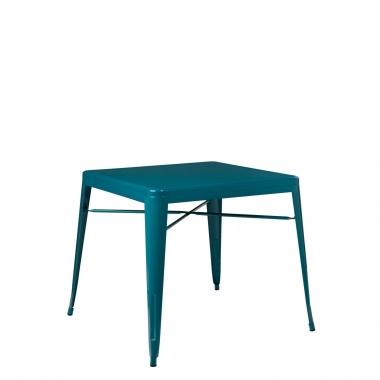 Mesa LIX X (80x80) - Azul Turquesa