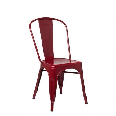 Silla LIX - Rojo Burdeos