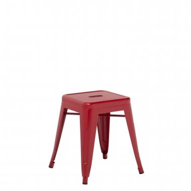 Taburete LIX - Rojo Burdeos