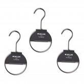 Set de 6 Perchas Gärde Metalizadas para accesorios, imagen miniatura 3