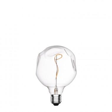 Bombilla LED E27 Regulable Filamento Espiral Supreme G125 2.5W