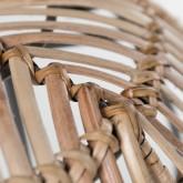 Taburete Bajo en Bambú y Acero Phân, imagen miniatura 4