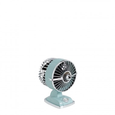 Ventilador de Mesa IKOHS Retro Line VT1511-IK USB 1.5W - Azul Isla Paraíso