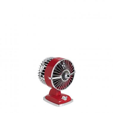 Ventilador de Mesa IKOHS Retro Line VT1511-IK USB 1.5W - Rojo