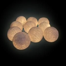 Bolas LED de Algodón 7cm