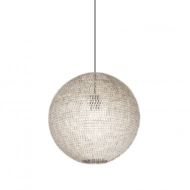 Lámpara Globe - Gris Acero