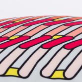 Cojín Cuadrado en Seda (45x45 cm) Yuno, imagen miniatura 6