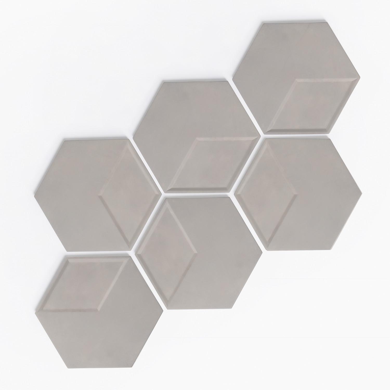 Panel Decorativo en Cemento Octy [6 uds.] , imagen de galería 1