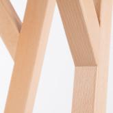 Mesa de Comedor Rectangular en Madera (120x80 cm) Nêro, imagen miniatura 4