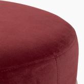 Taburete Otomano en Terciopelo Laur L , imagen miniatura 3
