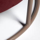 Taburete Otomano en Terciopelo Laur L , imagen miniatura 4