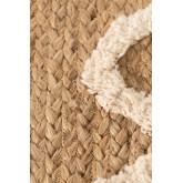 Alfombra en Yute y Algodón (112x71 cm) Dudle, imagen miniatura 6