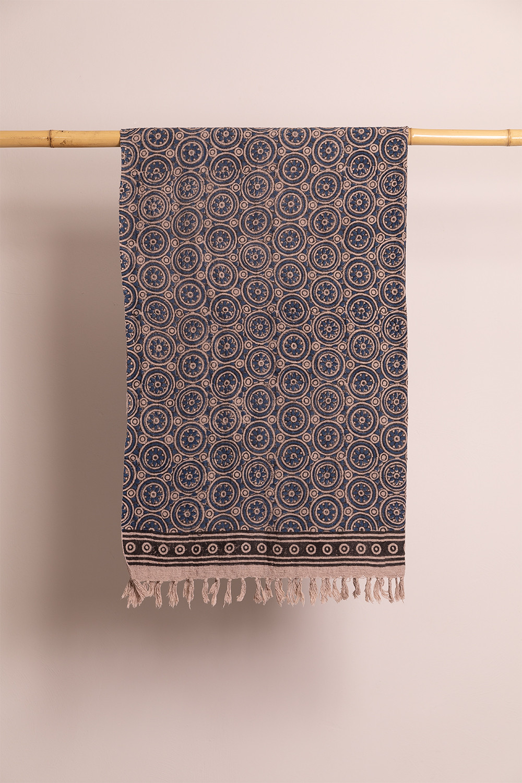 Manta Plaid en Algodón Jopi, imagen de galería 1