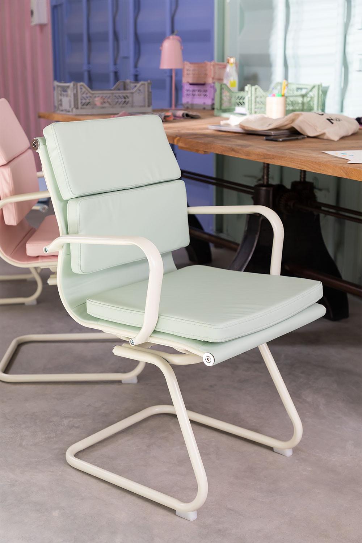 Silla de Oficina con Reposabrazos Mina Colors, imagen de galería 1