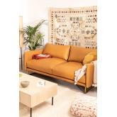 Sofá de 3 plazas en Polipiel Baldur, imagen miniatura 1