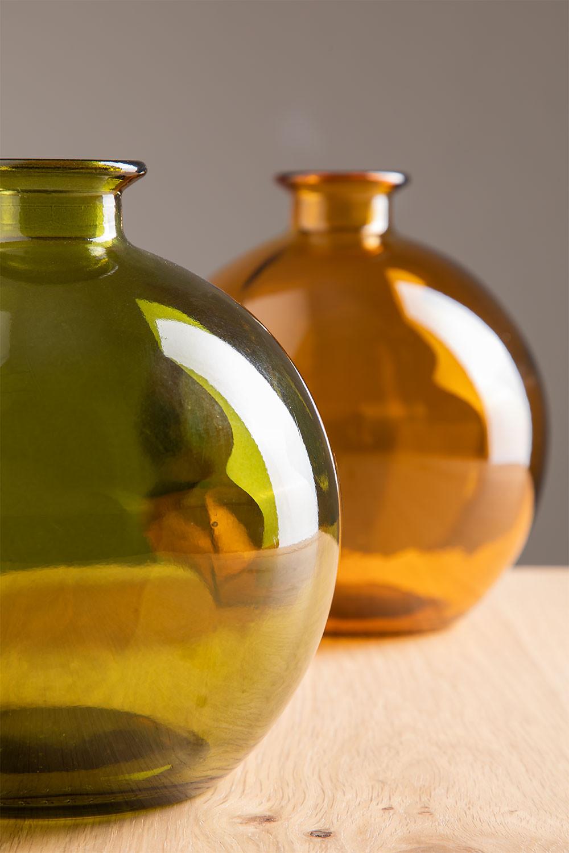 Jarrón en Vidrio Reciclado Kimma, imagen de galería 1