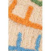 Alfombra Redonda en Algodón (Ø104 cm) Letters Kids, imagen miniatura 3