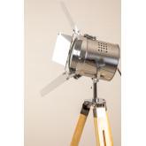 Lámpara de Pie Trípode Regulable Metalizado Cinne, imagen miniatura 5