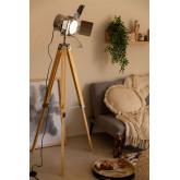 Lámpara de Pie Trípode Regulable Metalizado Cinne, imagen miniatura 2