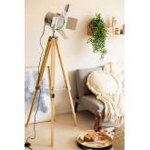 Lámpara de Pie Trípode Regulable Metalizado Cinne, imagen miniatura 1