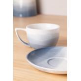 Set de 4 Tazas Café en Porcelana Mar, imagen miniatura 1