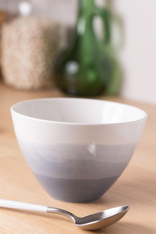 Pack de 4 Bowls en Porcelana Ø14 cm Mar , imagen de galería 1
