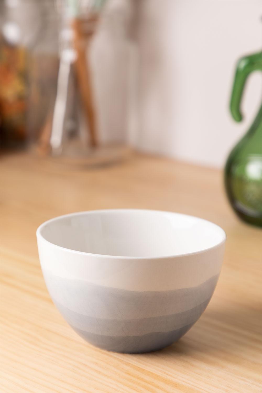 Bowl de Porcelana Ø12cm Mar, imagen de galería 1