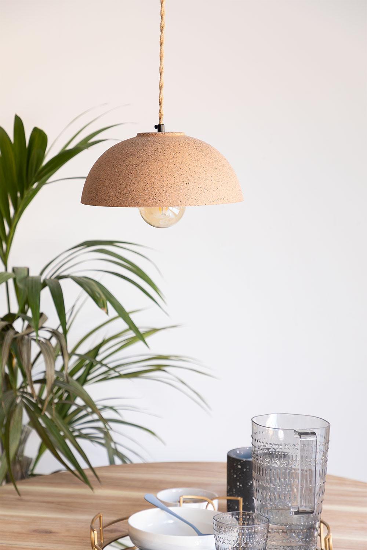 Lámpara de Techo en Porcelana Ouval, imagen de galería 1