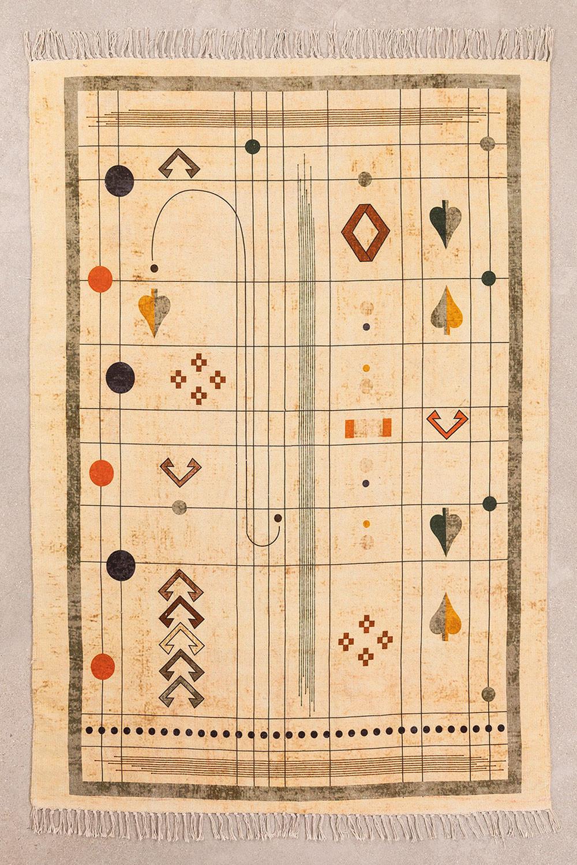 Alfombra en Algodón (180x125 cm) Grafic, imagen de galería 1