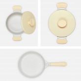 Batería de Cocina - 2 ollas + 1 sartén de aluminio - CREATE, imagen miniatura 2