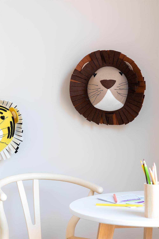 Cabeza Animal Lion Kids, imagen de galería 1