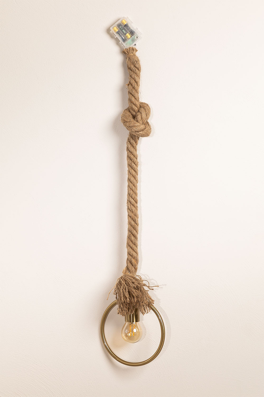 Lámpara Colgante en Cuerda Rew, imagen de galería 1