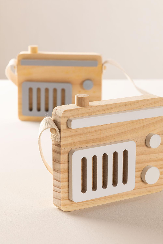Radio de Madera Rori Kids, imagen de galería 1